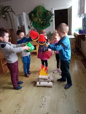 Юні пожежники